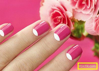 Изберете своя персонализиран дизайн на ноктите с френска