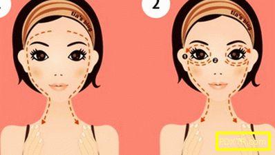 Как да направя японски масаж на лицето asahi (zogan)?