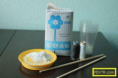 Как да израстнем кристал от сол у дома - трудно ли е? ще ви