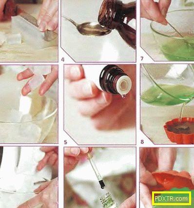 Сапуни рецепти у дома за начинаещи, технология. тайните на