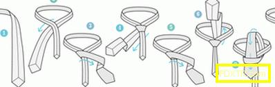 Как да вратовръзка правилно вратовръзка: подробно за