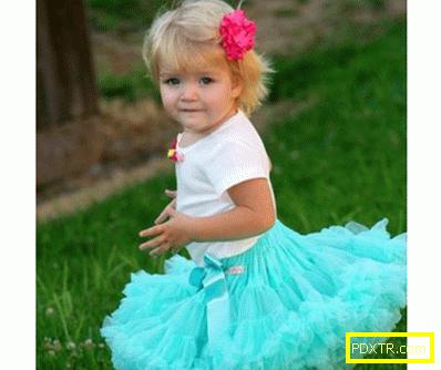Пола за момиче със собствените си ръце - магически пакет за