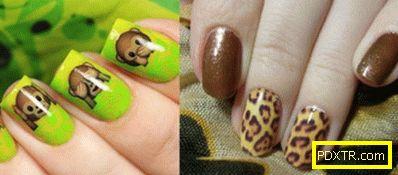 Плъзгач дизайн за нокти: необичаен начин на маникюр. методи