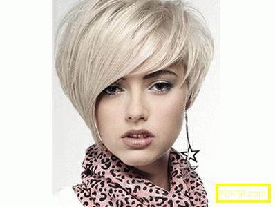 Рязане на косата с стълба (снимка) - един от най-популярните