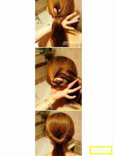 Преглед на бързите прически на средна коса. как да направите