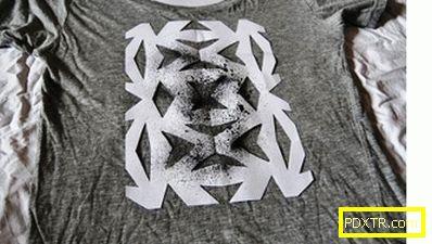 Как да украсите тениска със собствените си ръце: майсторски