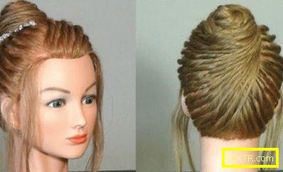 Модни прически за средна коса - хубаво и просто. как да