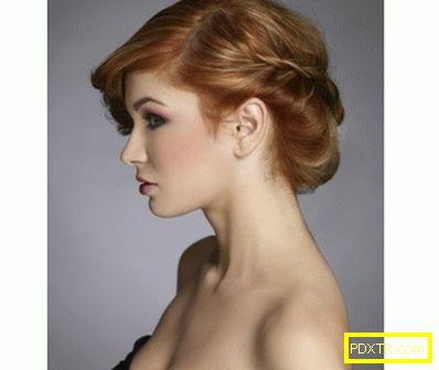 Прическа: косата отстрани - стилно. избираме и създаваме