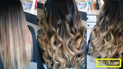 Общо боядисване на косата