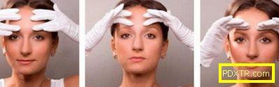Комплекс от упражнения за лице в къщи от бръчки. гимнастика