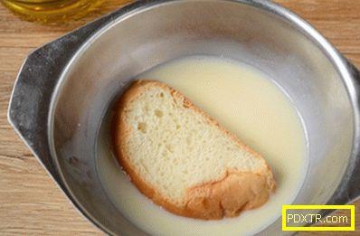 Тост с мляко в яйцето: лека закуска за пет минути! как да