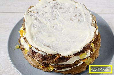 Червена торта: чудесна закуска, удобно е да си вземете