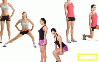 Как бързо и ефективно да отслабнете в краката