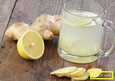 Как да готвя и пие вода с лимон, за да отслабна?