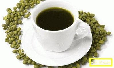Как да отслабвам върху зелено кафе?