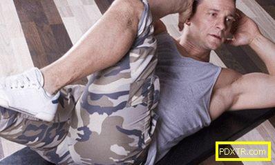 Как да премахнете стомаха на един мъж
