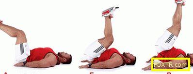 Комплект упражнения за фитнес залата