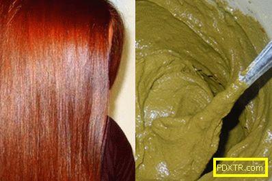 Как правилно да оцветите косата с цветна къна и да се