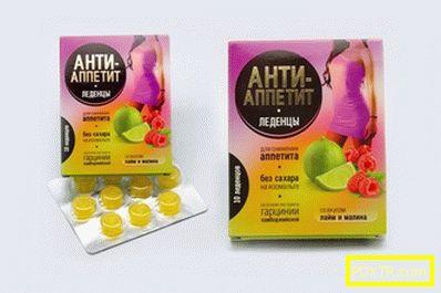 Подсладени таблетки против апетит - страхотни помощници за