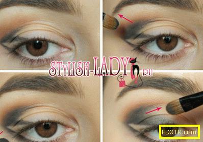 Нова година: 3 красиви грима за кафявите очи