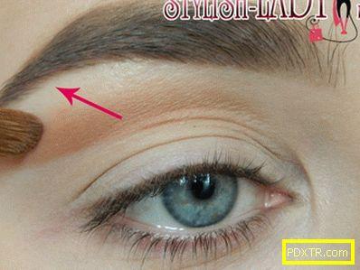 Как да увеличим очите? гримирай куклата