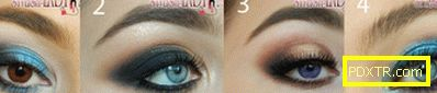 Красива грима за очите у дома: научаваме се да рисуваме от