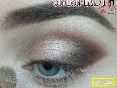 Грим за сиви очи на бала