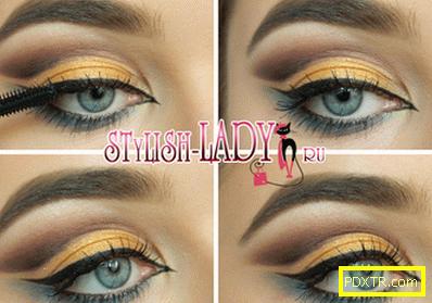 Блестящ грим за очите - 3 опции за блондинки и брюнетки