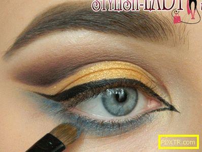 Урок по ориенталски грим на очите