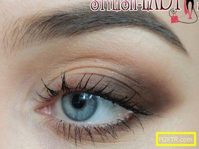 Как правилно да засенчвате сенките, правете грим на очите