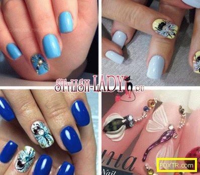 Идеи за маникюр с водни кончета върху ноктите