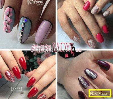 Модни ивици на ноктите - идеи за маникюр с ивици