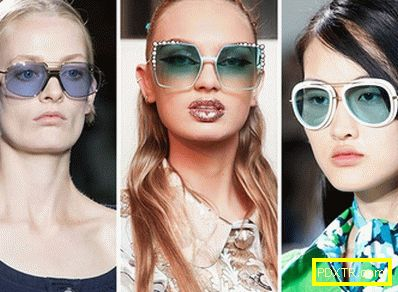 Модни очила за пролет и лято 2017: пеперуди с кристали,