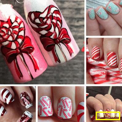 Новогодишни рисунки на ноктите - най-красивите идеи за вас!