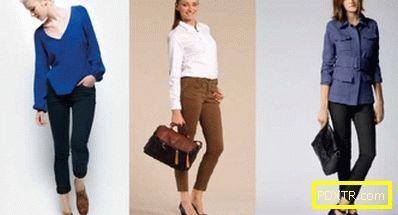 Тесни панталони: начини за комбиниране с различни видове