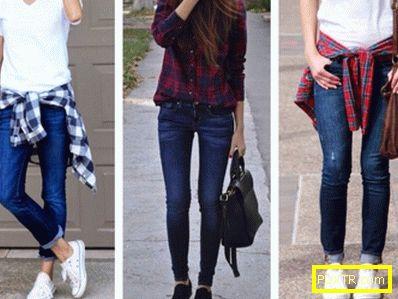 С какво да носите здрави дънки? облечи с вкус!