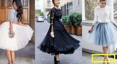 Skirt-tutu: се чувствам като балерина! с какво да го носите?