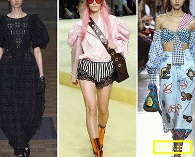 Стилни тенденции в седмицата на модата в лондон за пролетта