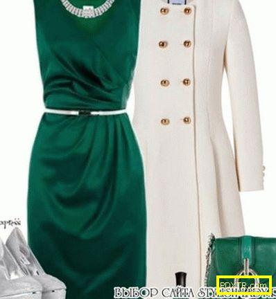 Зелена рокля или зелена пола. какво да носите в чифт