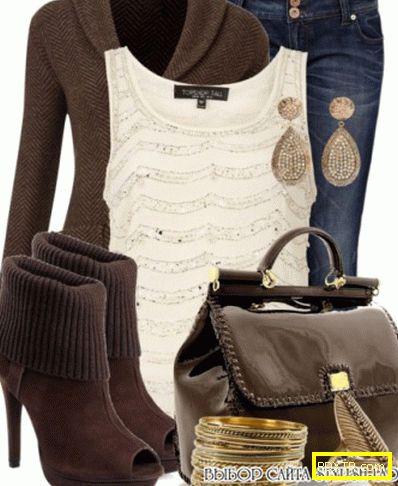 Стилни аксесоари: с какво да носите кафява торба?
