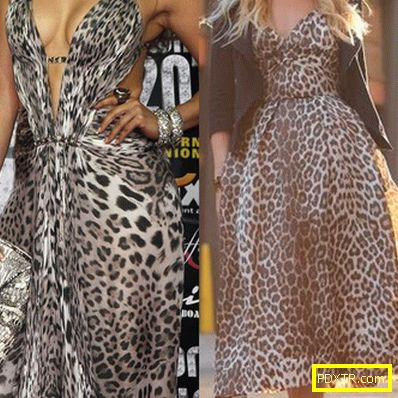 Лео стил: модерен хищник. рокли с леопард