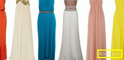 Кратки и дълги рокля без презрамки. как да носите рокля без