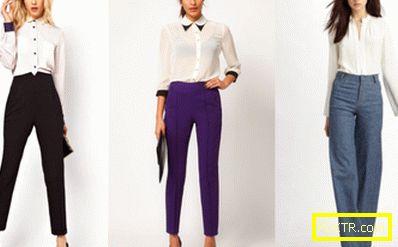 Пазарувайте отново. панталони с напомпана талия: какво