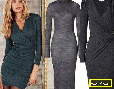 Строга елегантност на бизнес рокля