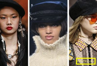 Модни шапки и други шапки падат зима 2018-2019
