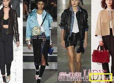 Кои якета ще бъдат на мода през пролетта на 2017 г.