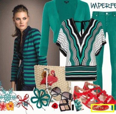 Необичайни цветове - с какво да носите зелени дънки?