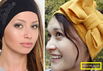 Модни ленти за глава: как да носите?