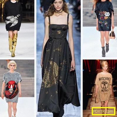 57b4a762889 Модни ежедневни и вечерни рокли от есенно-зимен сезон - Женско ...