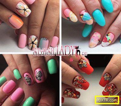 Лятно настроение на ноктите - ярък маникюр за лятото
